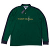 Tommy Hilfiger Embroidered Spell Out Long Sleeve Polo Shirt