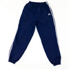Adidas Three Stripe Spell Out Logo Lined Windbreaker Joggers