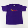 California Multicolor Embroidered Spell Out T-Shirt