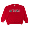 Rutgers College Spell Out Sweatshirt