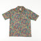 Jefftron by Lord Jeff Polyester Paisley Disco Shirt