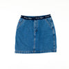 Tommy Hilfiger Spell Out Denim Skirt
