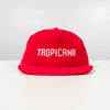 Tropicana Corduroy Spell Out Snap Back
