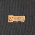 Y2K Borgata Atlantic City Striped Embroidered Spell Out T-Shirt