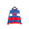Adidas Trefoil Spell Out Color Blocked Sweatshirt