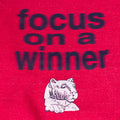 Focus On A Winner Blurry Text Sweatshirt