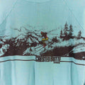 1989 Crested Butte Colorado Double Sided Ski Sweatshirt