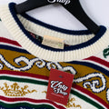 Natural Royal Crest Knit Sweater
