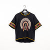 DJ Smash Native American Print T-Shirt
