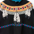Native American Henley Sweatshirt