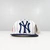 Logo 7 New York Yankees Pin Strip Snap Back Hat