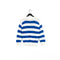 IZOD Lacoste Le Crocodile Originale Chemise Striped Knit Sweater