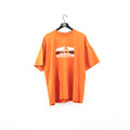Adidas Oval Logo Spell Out T-Shirt
