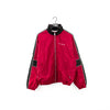 NIKE Spell Out Color Block Lined Windbreaker