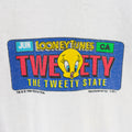 1994 Tweety & Sylvester License Plate T-Shirt