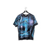 2001 Liquid Blue Great Wolf Lodge Wolf All Over Print T-Shirt