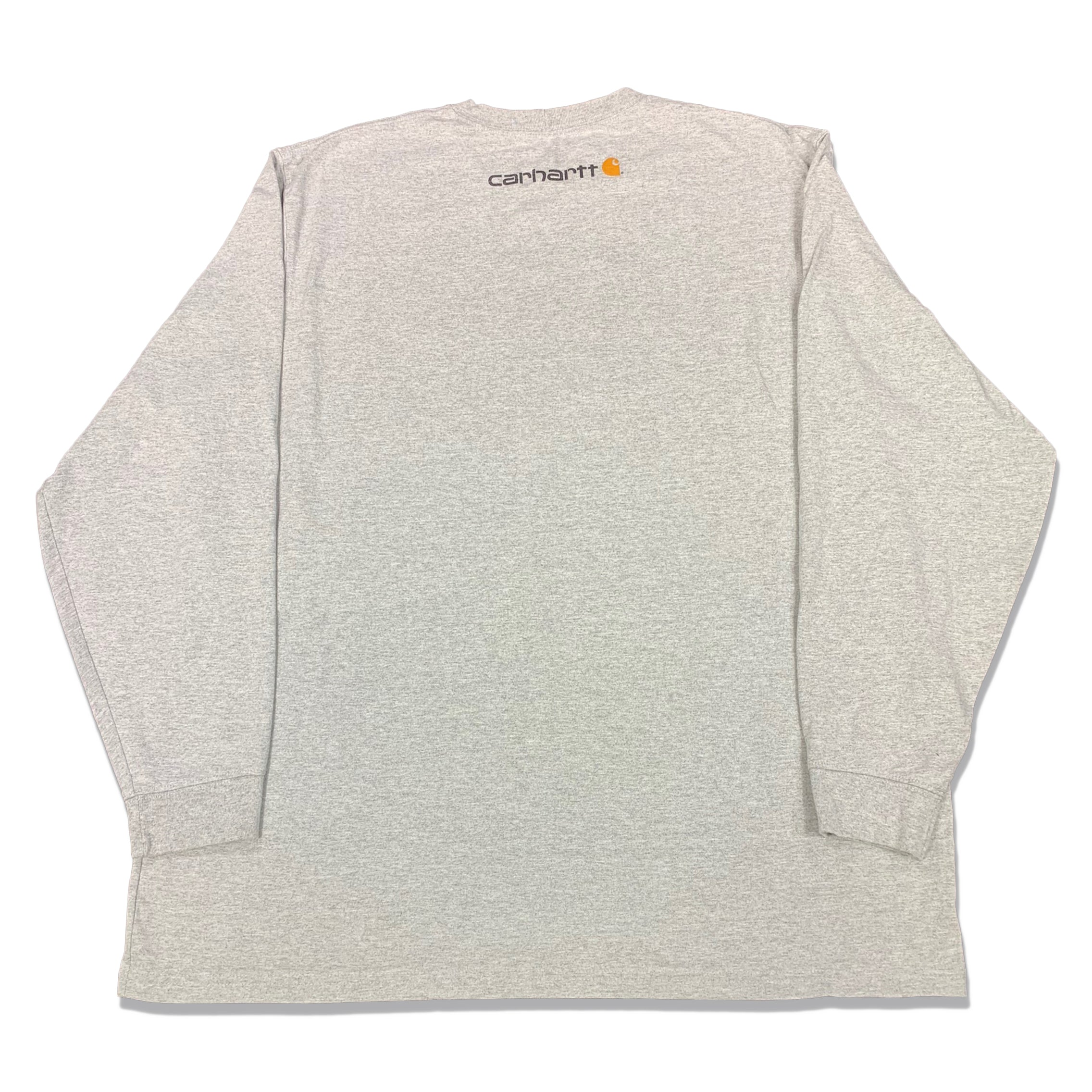 Y2K Carhartt Spell Out Logo Long Sleeve T-Shirt