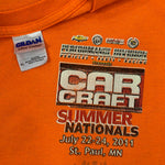 Load image into Gallery viewer, 2011 Car Craft Summer National MotorSport Racing T-Shirt