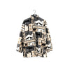 Animal Wilderness All Over Printed Fleece Jacket