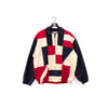 Nautica Color Block Windbreaker Sailing Jacket