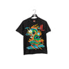 Metal Heavy Dragon Big Print T-Shirt