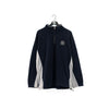 Nautica Jeans Sleeve Spell Out Fleece Sweater