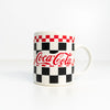 1997 Coca-Cola Checkered Mug