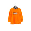 AND1 Basketball Embroidered Spell Out Long Sleeve Ringer T-Shirt
