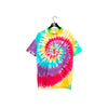 Hippie Spiral Multicolor Tie Dye T-Shirt