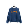 NIKE Illinois Center Swoosh Spell Out Sweatshirt