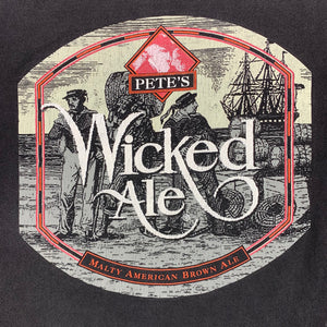 90s Pete's Wicked Ale Box Logo Promo T-Shirt