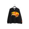 1994 Metallica Pushead Flaming Sun Skull Long Sleeve T-Shirt