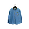 2000 Looney Tunes Tweety Corduroy Collar Denim Shirt