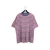 County Seal Striped Faded T-Shirt