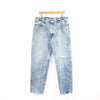 Levi 550 Acid Wash Thrashed Jeans