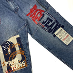 Load image into Gallery viewer, 90s Paco Jeans Spell Out Baggy Jeans