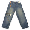 Y2K Paco Patch Baggy Jeans