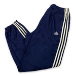 Load image into Gallery viewer, 90s Adidas Three Stripe Spell Out Logo Joggers