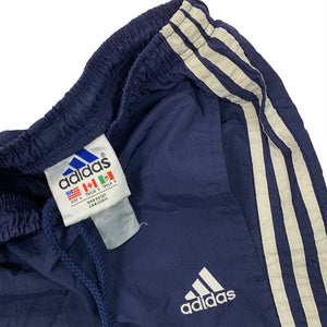 90s Adidas Three Stripe Spell Out Logo Joggers