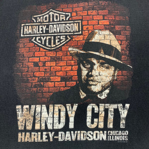 2016 Windy City Al Capone Harley Davidson Pocket T-Shirt