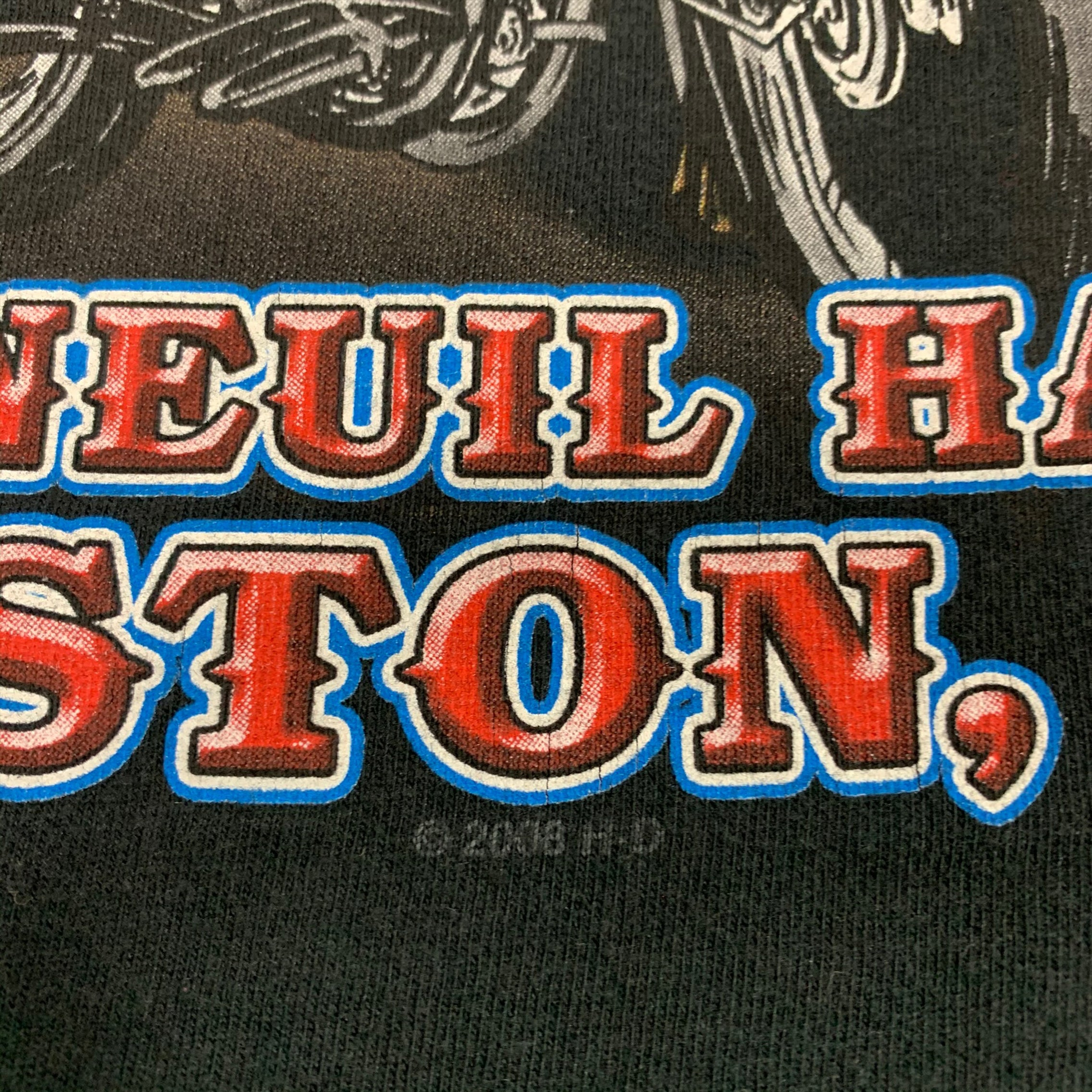 2009 Boston Harley Davidson Group Therapy T-Shirt