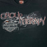 Load image into Gallery viewer, 2009 Boston Harley Davidson Group Therapy T-Shirt
