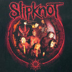 Load image into Gallery viewer, Y2K SlipKnot Spell Out Band T-Shirt