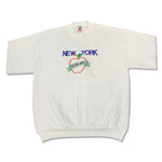 Load image into Gallery viewer, 90s New York Big Apple Cutoff Sweatshirt