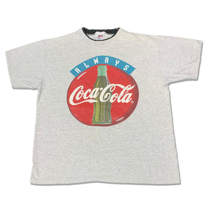 90s Always Coca Cola Double Collar T-Shirt