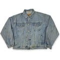 90s GAP Distressed Denim Jacket
