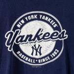 Load image into Gallery viewer, 2001 Majestic New York Yankees Script Spell Out T-Shirt