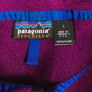 90s Patagonia Snap T Fleece Made in USA