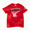 VNTG x Rutgers Basketball Thrashed T-Shirt