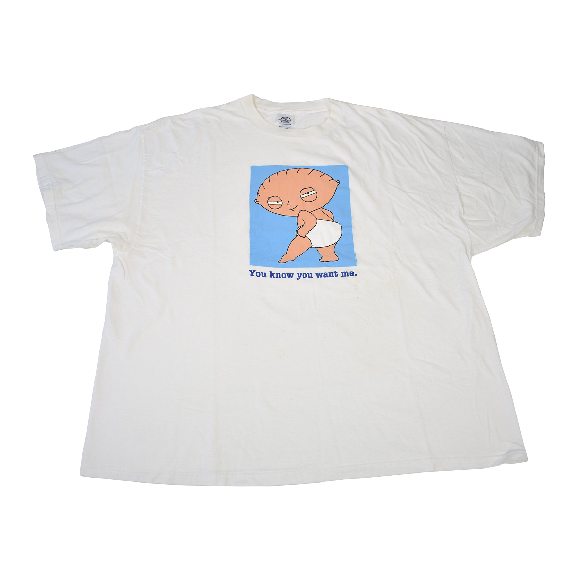 2003 Stewie Family Guy I Know You Want Me T-Shirt